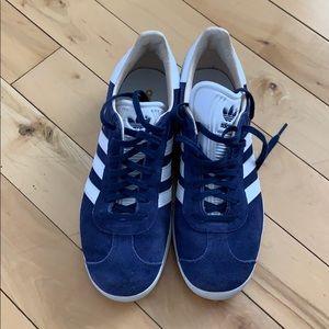 Adidas Gazelles Blue Women's 9